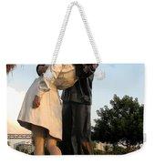 Kissing Sailor At Dusk - The Kiss Weekender Tote Bag