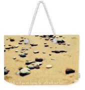 Kissing The Earth Weekender Tote Bag