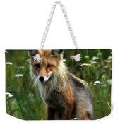 Kit Red Fox Weekender Tote Bag