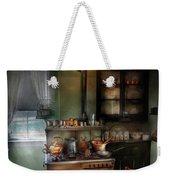 Kitchen - 1908 Kitchen Weekender Tote Bag