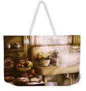 Kitchen - A 1930's Kitchen  Weekender Tote Bag by Mike Savad