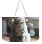 Kitchen Cat Weekender Tote Bag