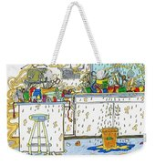 Kitchen Catastrophe Weekender Tote Bag