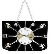 Kitchen Clock Weekender Tote Bag