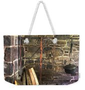 Kitchen - Colonial Pots And Pans Weekender Tote Bag