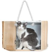 Kitchen Cubbard Cat Weekender Tote Bag
