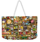 Kitchen Cupboard Weekender Tote Bag by Colin Thompson