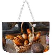 Kitchen - Food - Bread - Fresh Bread  Weekender Tote Bag by Mike Savad