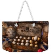 Kitchen - Food - Eggs - 18 Eggs  Weekender Tote Bag