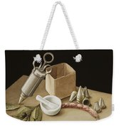 Kitchen Geometry Weekender Tote Bag