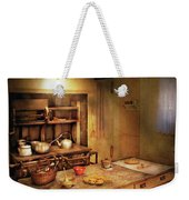 Kitchen - Granny's Stove Weekender Tote Bag