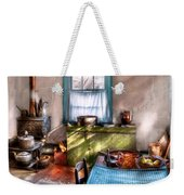 Kitchen - Old Fashioned Kitchen Weekender Tote Bag