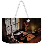 Kitchen - On A Table II  Weekender Tote Bag by Mike Savad