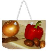 Kitchen Prep Weekender Tote Bag