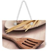 Kitchen Still Life With Pasta  Weekender Tote Bag
