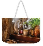 Kitchen - Try To Keep Busy  Weekender Tote Bag