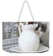 Kitten And The Picther Weekender Tote Bag