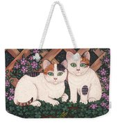 Kittens And Clover Weekender Tote Bag
