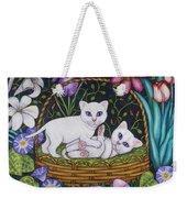 Kittens In A Basket Weekender Tote Bag