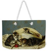 Kittens Up To Mischief Weekender Tote Bag