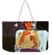 Kitty At Christmas Weekender Tote Bag