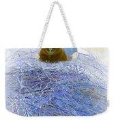 Kitty Blue IIi Weekender Tote Bag