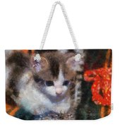 Kitty Photo Art 02 Weekender Tote Bag
