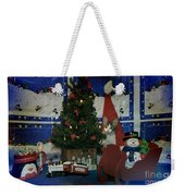Kitty Says Merry Xmas Weekender Tote Bag