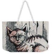 Kitty Sly Weekender Tote Bag