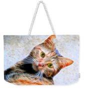 Kitty Strange Weekender Tote Bag