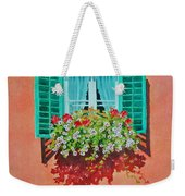 Kitzbuhel Window Weekender Tote Bag