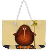 Kiwi Birds Crossing Weekender Tote Bag