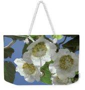 Kiwifruit Blossoms Weekender Tote Bag
