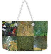 Klimt Landscapes Collage Weekender Tote Bag