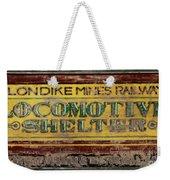 Klondike Mines Railway Weekender Tote Bag