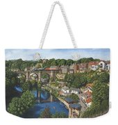 Knaresborough Yorkshire Weekender Tote Bag