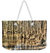 Kneeling On The Edge Weekender Tote Bag