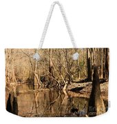 Knees And Reflections Weekender Tote Bag