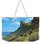 Knife Edge Road Overlooking Montezuma Valley In Mesa Verde National Park-colorado  Weekender Tote Bag