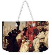 Knights Of The Order Of St John Of Jerusalem Restoring Religion In Armenia Weekender Tote Bag