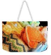 Knitting For Baby Weekender Tote Bag
