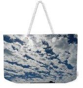 Knock On The Sky 2 Weekender Tote Bag