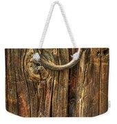 Knock On Wood Weekender Tote Bag