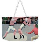 Knock Out Weekender Tote Bag by Jerzy Marek
