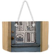 Knock Twice And Ask For Betty Weekender Tote Bag