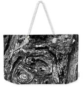 Knots And Swirls Bw Weekender Tote Bag