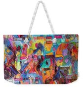 Know That This Is The Purpose Of The Creation To Deepen Knowledge And Thought On The Service Of G-d Weekender Tote Bag