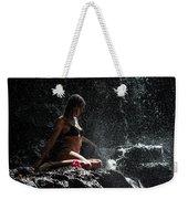 Knowledge. Anna At Eureka Waterfalls. Mauritius Weekender Tote Bag