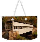 Knox Bridge In Autumn Weekender Tote Bag