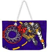 Kobe Bryant Weekender Tote Bag by Jeremiah Colley
